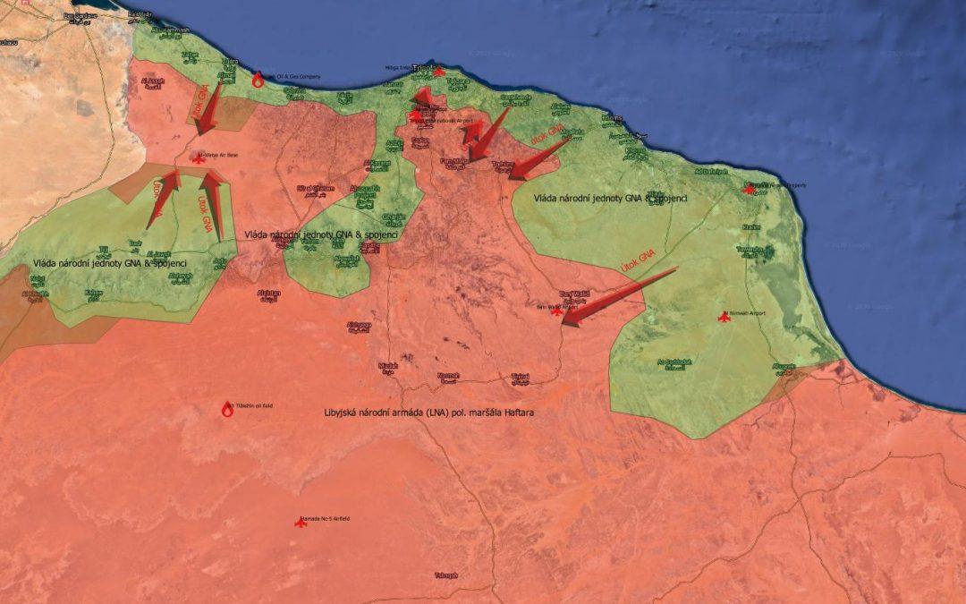 Analýza: aktuální vojenská situace v Libyi