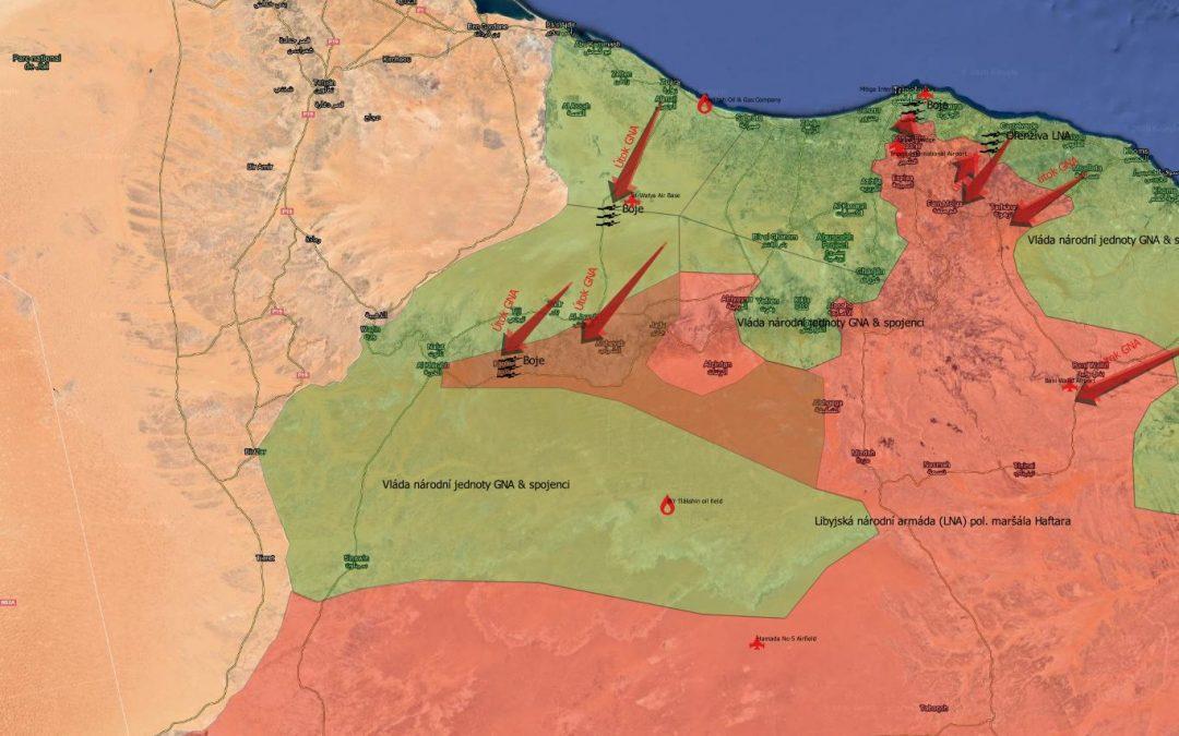 Vojenská situace na západě Libye