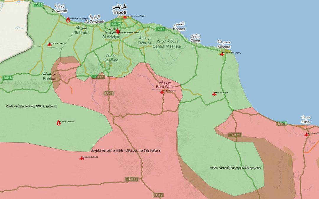 Bitva o Tripolis skončena