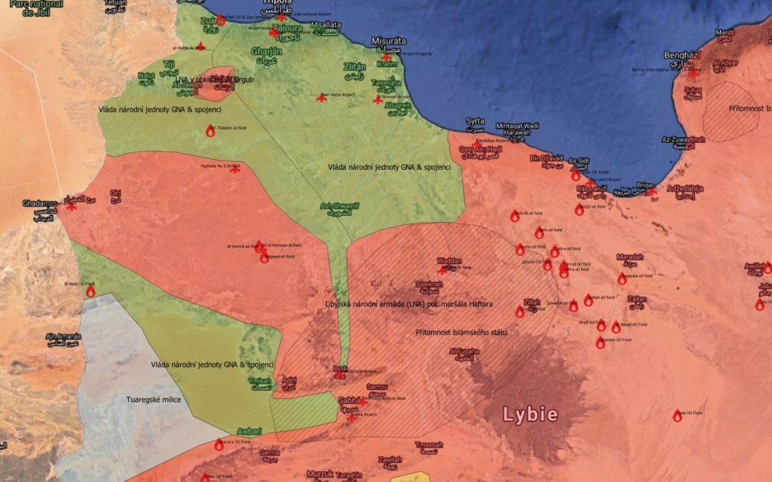 Vojenská situace v Libyi v předvečer ofenzívy GNA