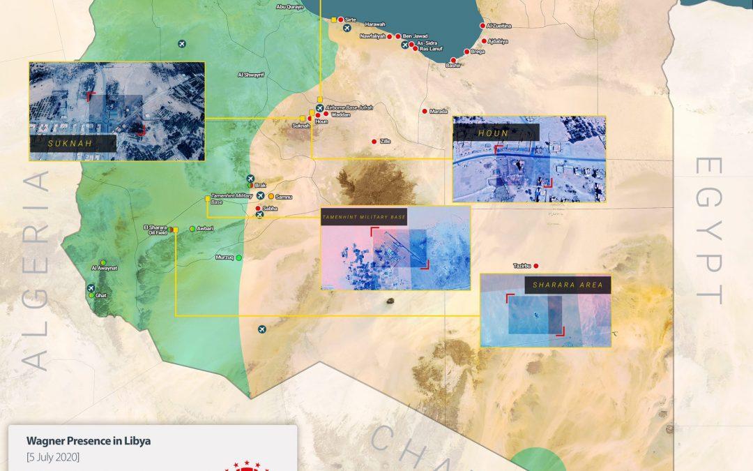 Základny ruských žoldnéřů v Libyi budou prvním cílem Ankary