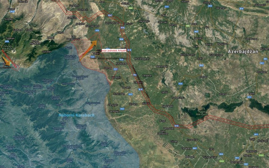 Ázerbájdžánský útok odražen, jednotky republiky Arcach postupují