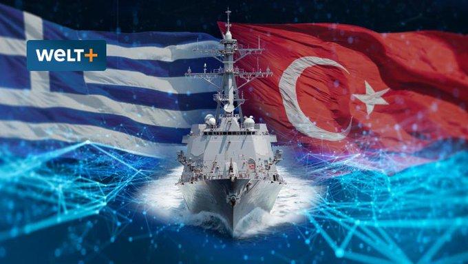 Erdogan nařídil armádě potopit řeckou válečnou loď a sestřelit řeckou stíhačku