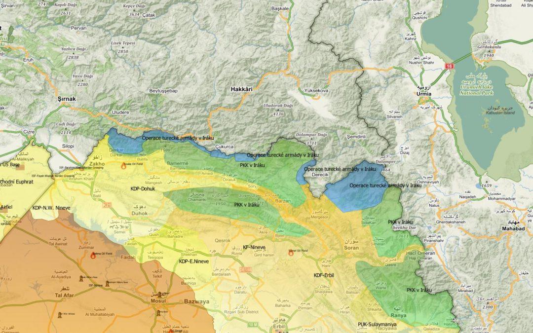 Vojenská situace v severním Iráku