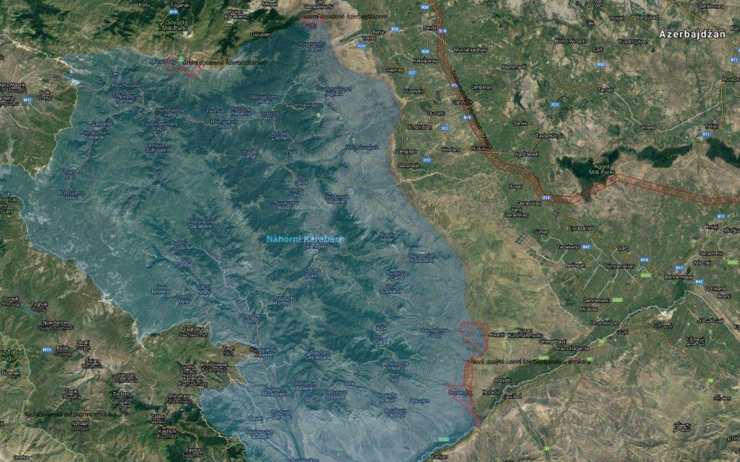 Vojenská situace v Náhorním Karabachu