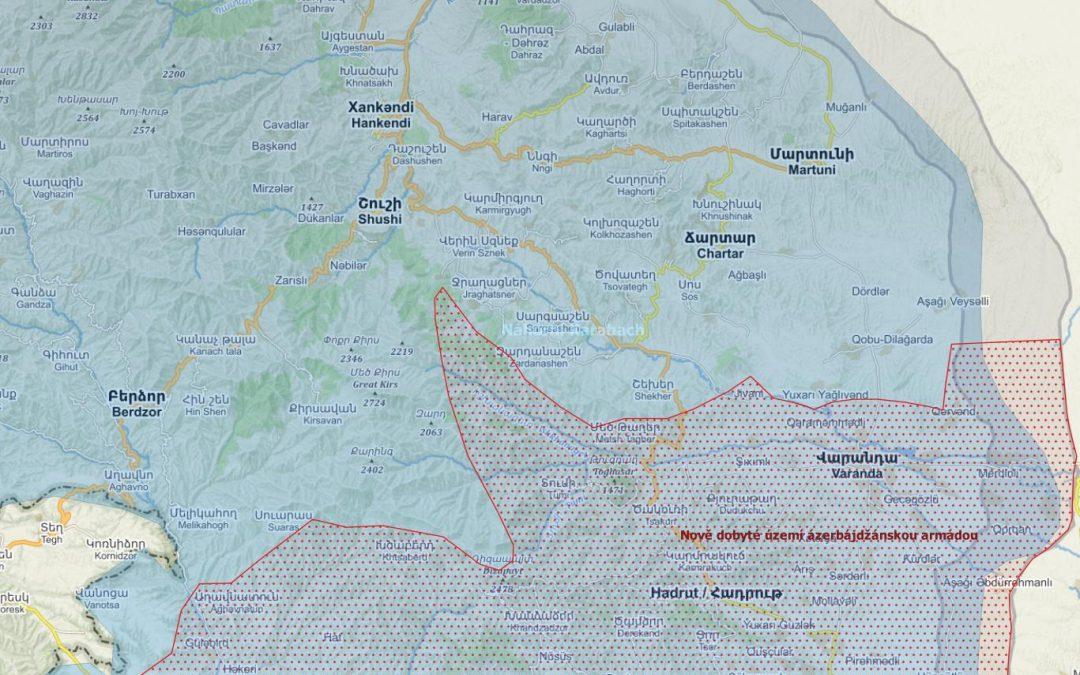 Náhorní Karabach – aktuální vojenská situace
