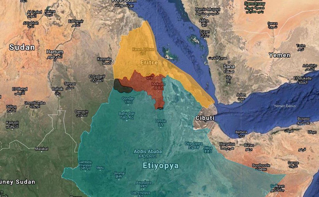 Válečný konflikt v Tigraj – Etiopie