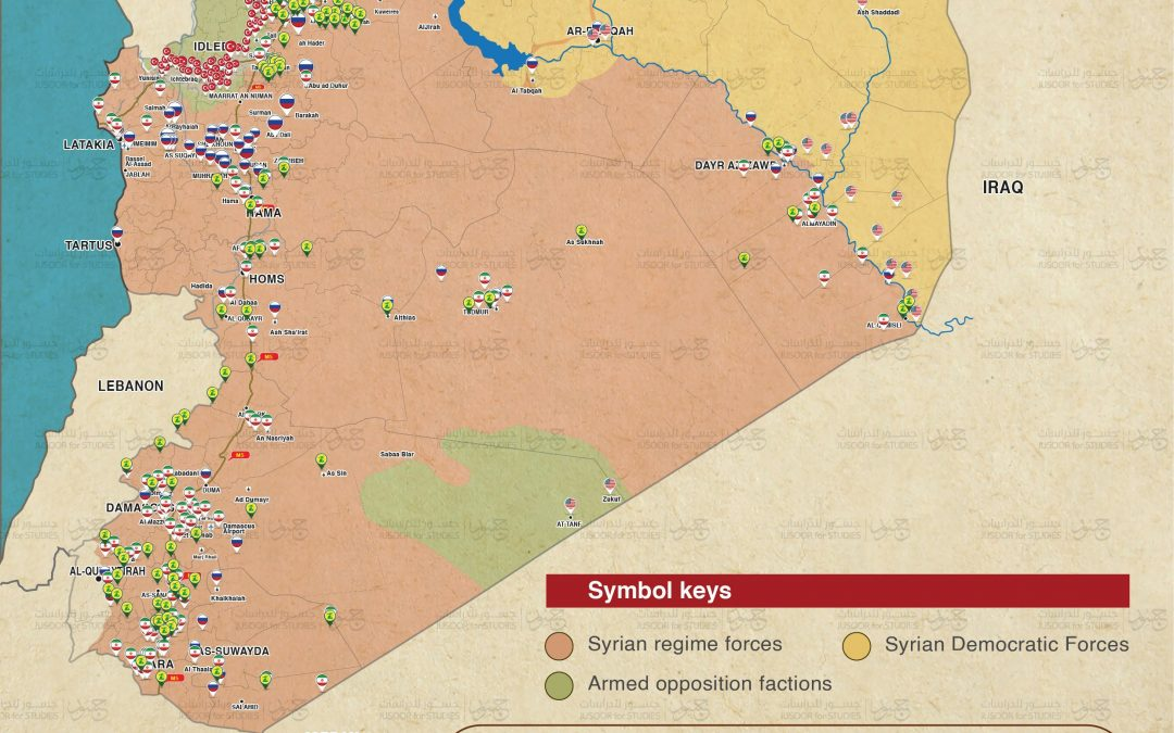 Základny zahraničních armád v Sýrii