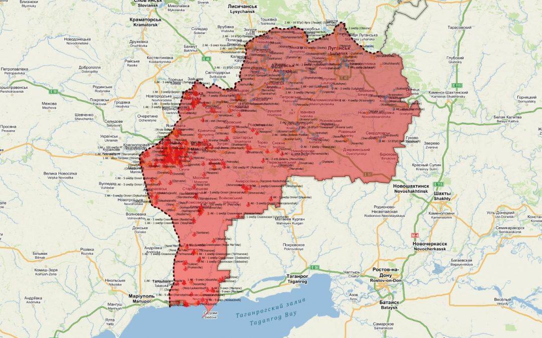 """Blíží se """"horké jaro"""" na Východní Ukrajině?"""