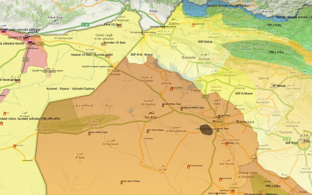Sindžár – nový zdroj sektářské nestability a vojenské intervence v Iráku?