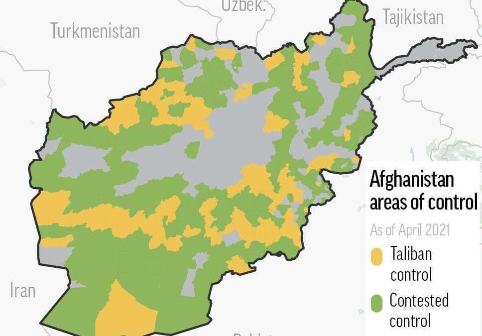 Analýza a predikce nadcházející ofenzívy Talibánu v Afghánistánu